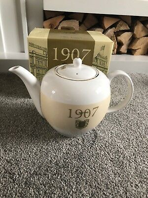 Ringtons 1907 Teapot Fine Bone China Boxed ❤️