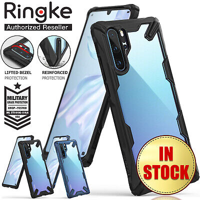 Huawei P30 Pro P30 Ringke Fusion X Case Military Drop Tested Defense for Huawei