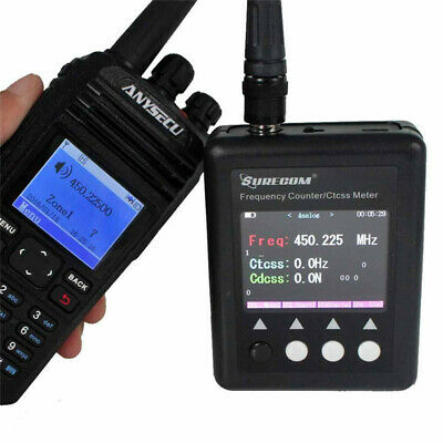 NEW SF401 Digital Radio Tester 27-3000Mhz Decoder Portable Frequency Counter
