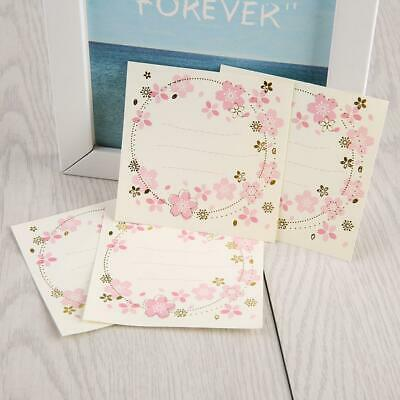 Sticky Notes Notebook Memo Pad Bookmark Paper Sticker Notepad Stationery Flower
