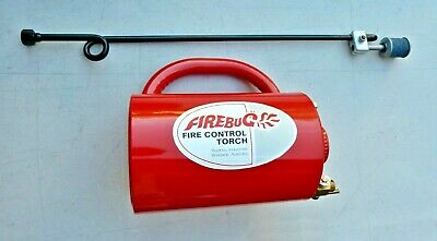 Firebug Fire Control Drip Torch Drip 4 Litre Fire Bug Control Back Burning FCT1