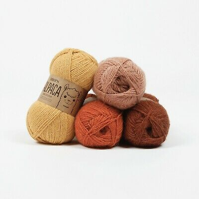 DROPS 100%Superfine Peruvian Alpaca 4ply yarn 63colours Luxury Knitting Wool 50g