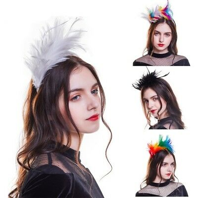Fascinators Feather Headband Headpieces Cocktail Wedding Party Hairband