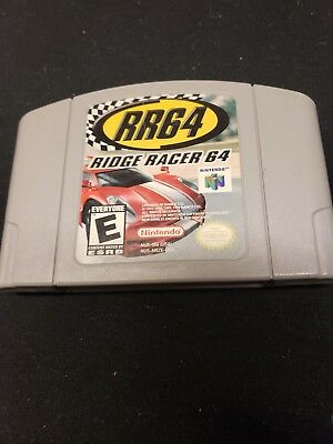 Ridge Racer 64 (Nintendo 64, 2000) game only Authentic Works @@@@@@@@@@@@@@