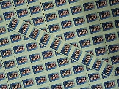 USPS First-Class FOREVER Stamp 10 Strip of 10 100 Stamps Value $55 Free Shipping