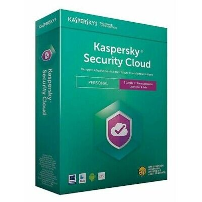 KASPERSKY Security Cloud 1 ANNO 3, 5, e 20 Dispositivi Licenza ESD