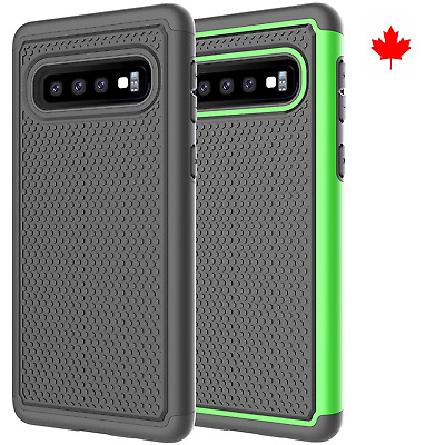Fits Samsung Galaxy S10 Plus Case Shockproof Rugged Rubber Hybrid Impact Cover