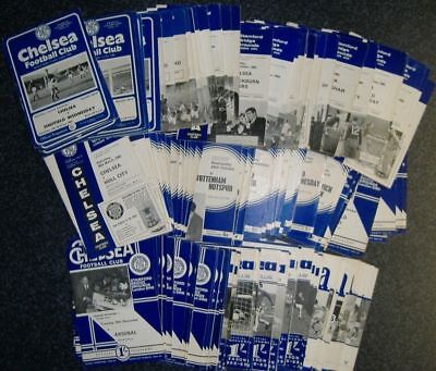 Chelsea Programmes 1963-70 - Select Your Programme **FREE POSTAGE IN UK**
