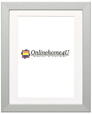 Silver Photo Frames With Various Colors Mounts Picture Frame Wooden Effect Frame
