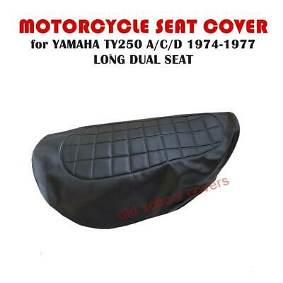 Yamaha Ty250 Ty 250 A C D 1974-1977 Long Dual Seat Cover