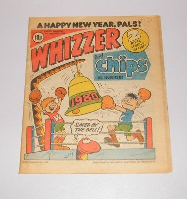 Whizzer and Chips - 5th January 1980 NEW YEAR issue - Vintage Retro Comic -s_4