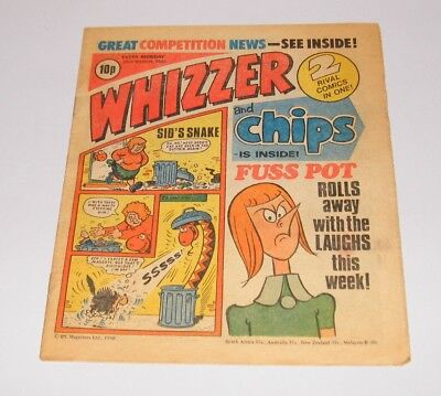 Whizzer and Chips, 22nd March 1980 issue - Vintage Retro Comic -  Buster - s_4