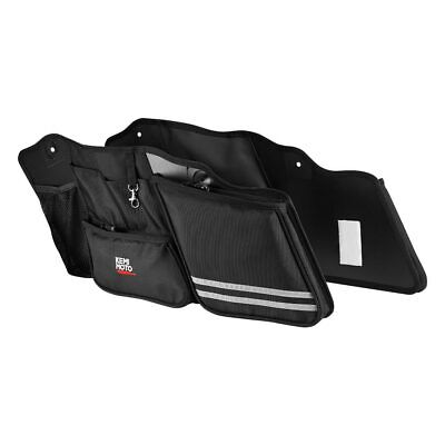 Saddlebag Wall Organizer Pouch Bag For Electra Street Glide Road King 2014-2019