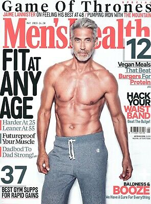 MEN'S HEALTH - May 2019 (BRAND NEW/SEALED)