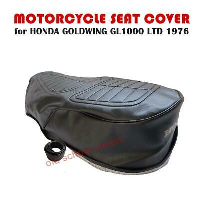 HONDA GL1000 LTD GOLDWING 1976 SEAT COVER with GOLD LOGO GL 1000 LIMITED