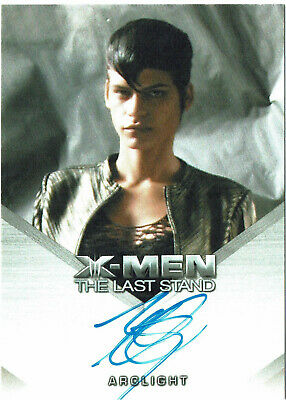 X-Men The Last Stand Autograph Card Omahyra as Arclight