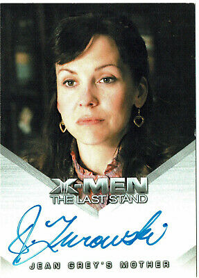 X-Men The Last Stand Autograph Card Desiree Zurowski as Jean Grey's Mother 2006