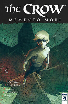 The Crow Memento Mori #4 Cover A Comic Book 2018 - IDW Brand New Bagged/Boarded