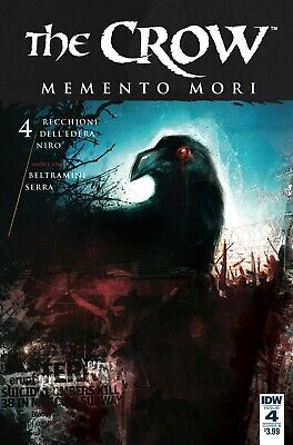 The Crow Memento Mori #4 Variant Comic Book 2018 - IDW Brand New Bagged/Boarded