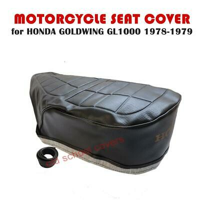 HONDA GL1000 GOLD WING 1978-1979  SEAT COVER with GOLD LOGO GL 1000