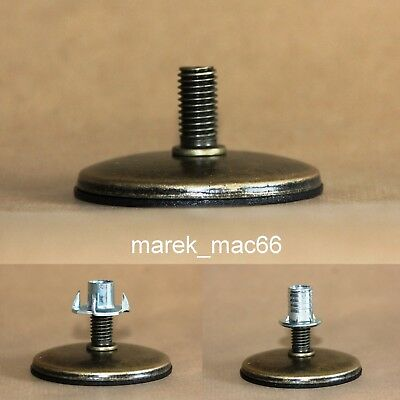 FOUR PRONGED T NUT (furniture) THREADED INSERTS FOR WOOD M3,M4,M5,M6