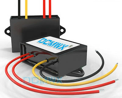 DCMWX buck voltage converters 60V change to 48V6A step-down car power inverters