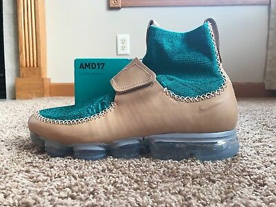9e5115d28863f Nike Men s Air Vapormax   MN Vachetta Tan Rio Teal Black Size 11 923004 200
