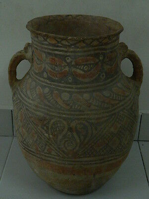 Ancient Huge Size Teracotta Painted Pot Indus Valley 1200 BC No Reserve #PT15673