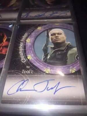 Stargate SG-1 Christopher Judge as Teal'c Autograph Auto Signed