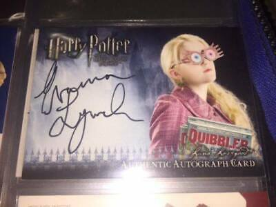 Harry Potter Evanna Lynch as Luna Lovegood Auto Autograph Signature