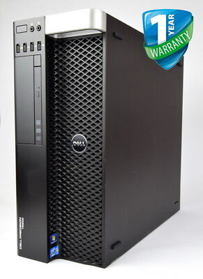 Dell Precision T5600 Workstation Xeon E5 CPU up to 16GB RAM 2TB HDD Win 10 Pro