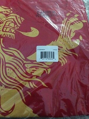 Official hbo Game of Thrones all over T-shirt Lannister (Small) Free Shipping