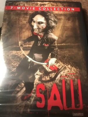 SAW The Movie Collection 1 2 3 4 5 6 7 Series (DVD Box Set) NEW