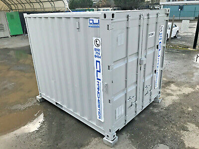 10ft x 8ft - Storage Container | Shipping Container | Steel Store |High Security