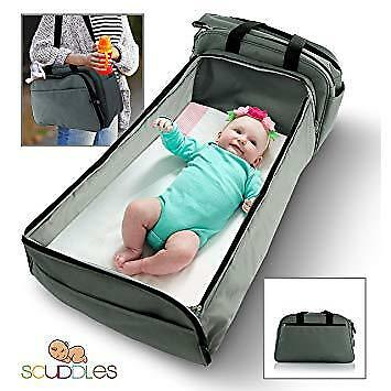 Scuddles- 3-1| portable bassinet | for baby | Foldable Baby Bed | 2 day shipping