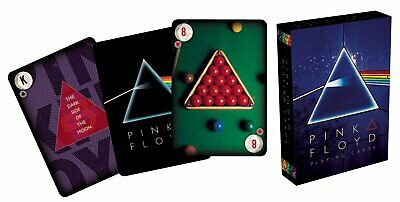 MAZZO DI CARTE DA GIOCO PINK FLOYD Dark Side of the Moon - Aquarius - Official