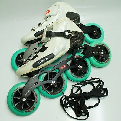 Size 10.5 Inline Speed Skates TruRev w/ 105mm or 110mm wheels Inline-Skates