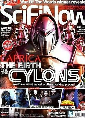 SCIFINOW Magazine Issue 35 CAPRICA CYCLONS AVATAR KEVIN SMITH PARADOX THE BOX