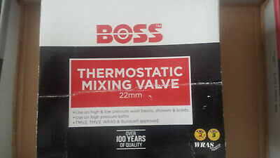 Boss 22mm Thermostatic Mixing Valve