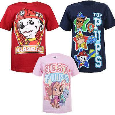 Paw Patrol - Kids Boys Girls - T-shirts - Official - Ages 3-10