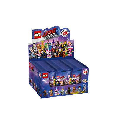 The Lego Movie 2 Minifigures CDU of 60 Minifigures