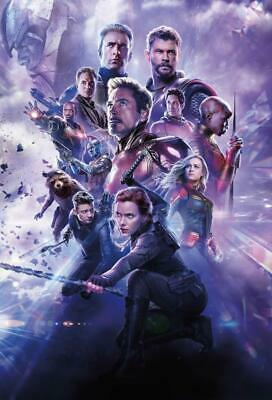 2019 HOT Movie Avengers Endgame HQ Poster Film Cover Decor Print 40x27 48x32""