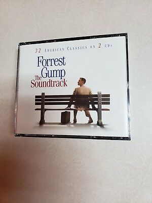 Forrest Gump [Remaster] by Original Soundtrack (CD, 1994, 2 Discs, Epic