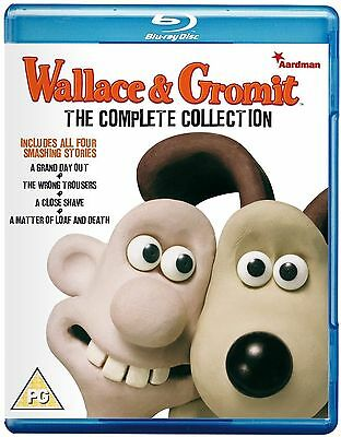 Wallace And Gromit The Complete Collection Blu Ray Set