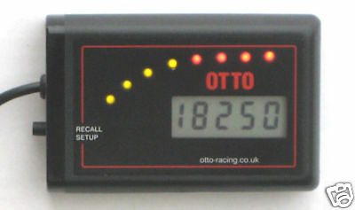OTTO DT-RL REV LIMITER, SHIFT LIGHT & DIGITAL TACHO race rally car