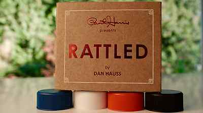 Paul Harris Presents Rattled (Red) by Dan Hauss - Bottle Cap Magic Tricks