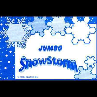 Jumbo Snowstorm - Magic Tricks