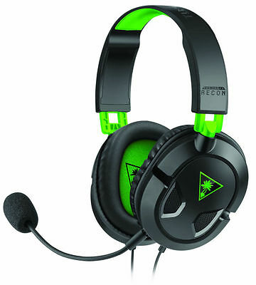 **Turtle Beach** Recon 50X Gaming Headset for PS4 - Xbox Black & Green