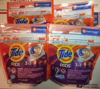 32 Tide Pods he  Laundry Detergentes!  32 Pods  Total 😱