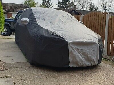 Ford Focus RS Mk3 (2016-19) 2 Tone Black and Grey Bespoke Fit Outdoor Car Cover